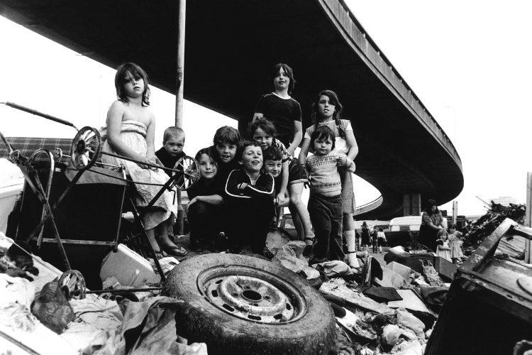 Gypsies Westway 1981