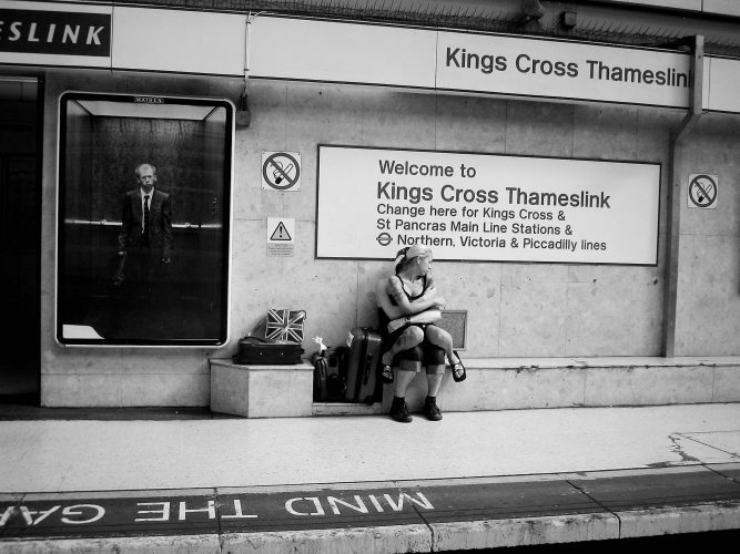 Kings Cross Thameslink Station 2005