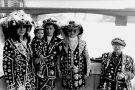 Pearly King & Pearly Queens River Thames 1992