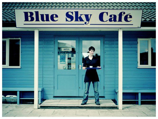 Blue Sky Cafe, shot for Roadside Britain | © Sam Mellish 2021