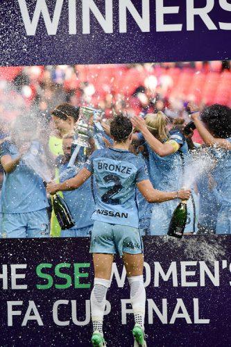 SSE Women's FA Cup Final Birmingham City Ladies V Manchester City Women Wembley Stadium, London, UK