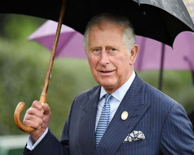 The Prince of Wales visits Kew gardens, London, UK