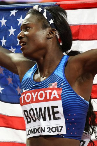 TORI BOWIE wins the 100 metres women – IAAF World Championships London 2017, London, UK