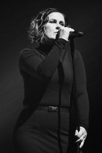 Alison Moyet performs at the Paladium, London, UK.