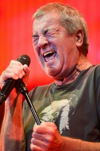 Ian Gillan, Deep Purple, performs at the O2 Arena, London, UK.