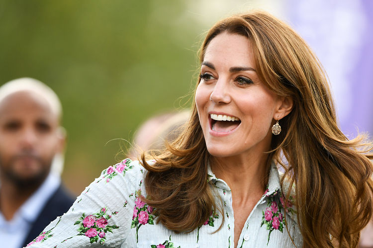 The Duchess of Cambridge attends the ëBack to Natureí Festival at RHS Garden Wisley, London, UK