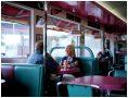 Out for lunch at the Ok Diner. Shot for Roadside Britain | © Sam Mellish 2021