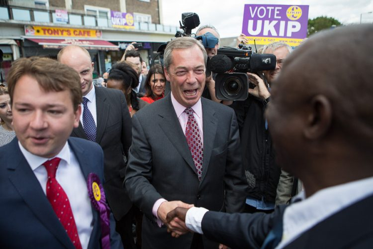 Nigel Farage visits Essex Today