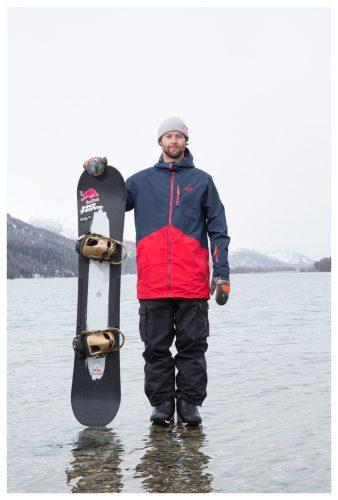 Olympic Bronze medalist, Billy Morgan. Lake Silvaplana in Switzerland  | © Sam Mellish 2021