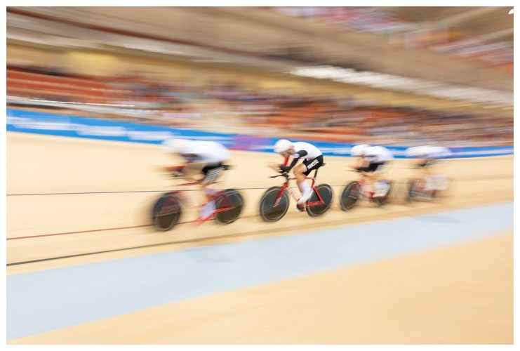 The Mens Cycle Team Pursuit At The Minsk Arena Belarus | © Sam Mellish 2021