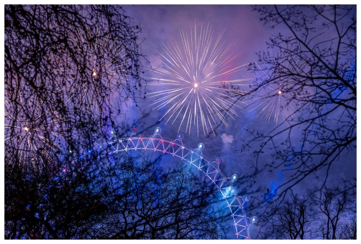 London Celebrates New Years Eve | Sam Mellish 2021