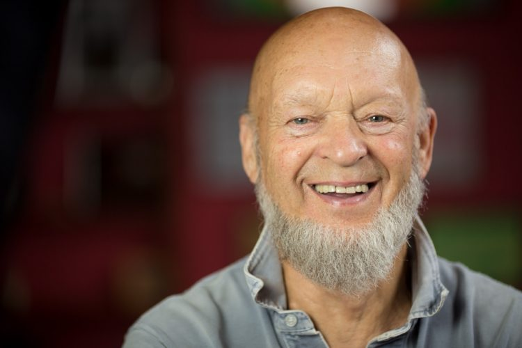 Michael Eavis, dairy farmer and Glastonbury founder