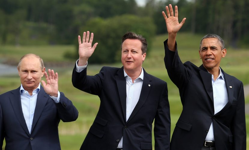 World Leaders Meet For G8 Summit AT Lough Erne