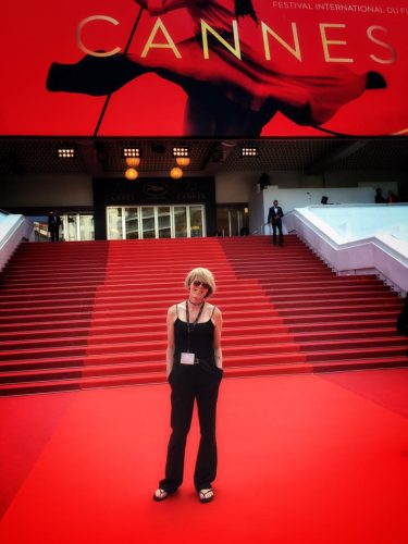 On the Cannes Red Carpet