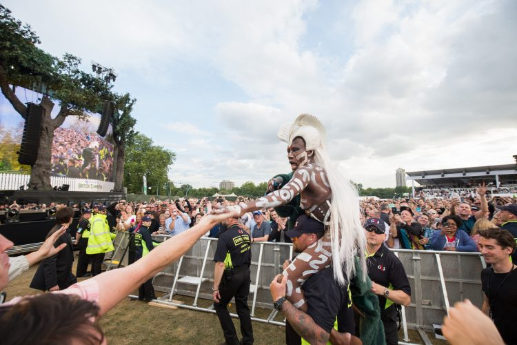 Grace Jones, BST Hyde Park 2015