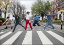 X-FACTOR'S ONE DIRECTION AT ABBEY ROAD 18.10.2010