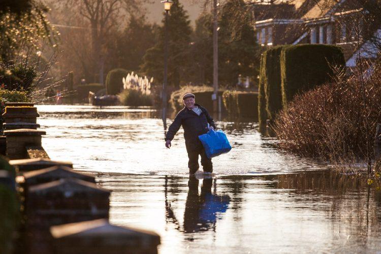 Floods in Wraysbury