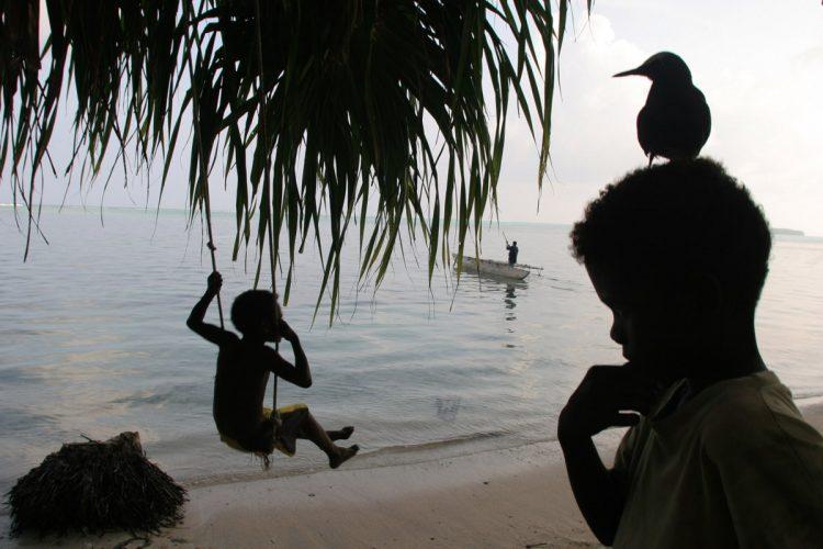 Papua New Guinea, Carterets Atoll, Han Island.
