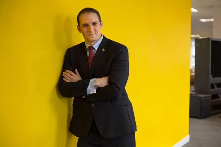 David Grevemberg, CEO of Glasgow 2014, photographed in his offices in Glasgow, Scotland, on Wednesday 29th August 2012.