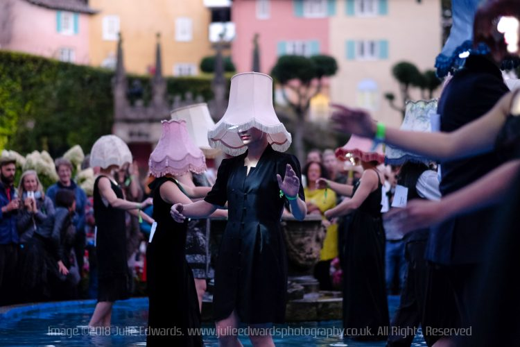 Festival No. 6 at Portmeirion, North Wales