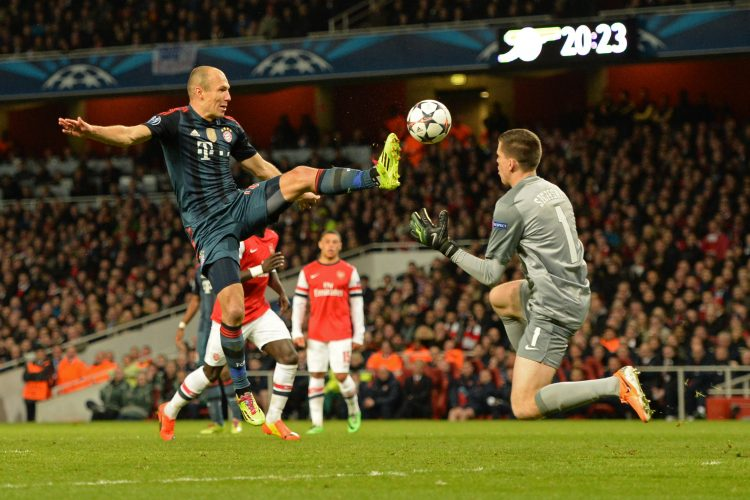 UEFA Champions League Arsenal v Bayern Munich