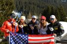 US Ski Team Olympic medal winners Sochi 2014