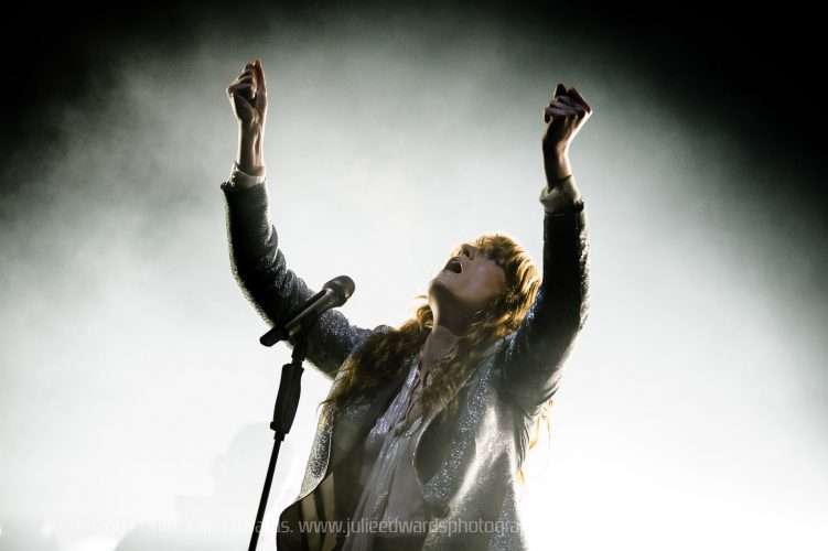 Florence and the Machine headline Glastonbury Festival on the Pyramid Stage