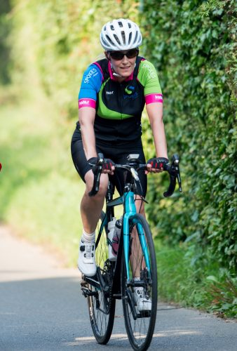 Sophie, Countess of Wessex has her final training session for Edinburgh to London bike ride