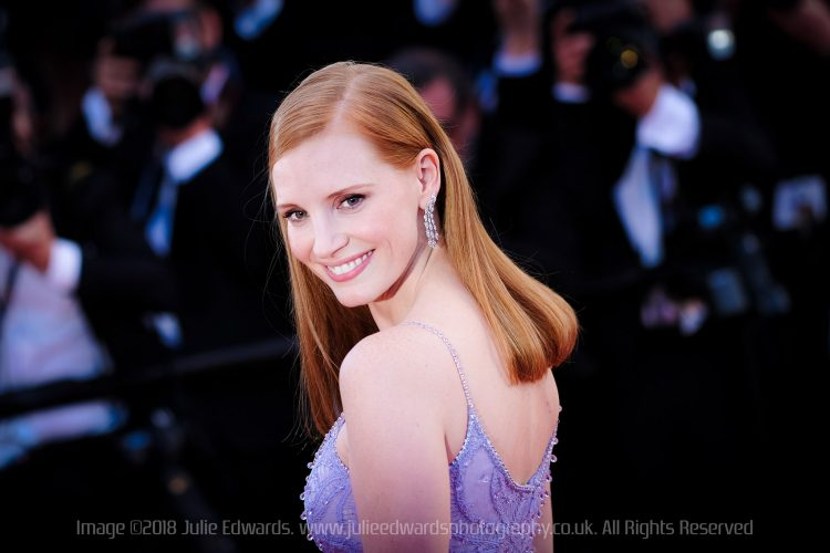 Jessica Chastain at Cannes Film Festival 2017