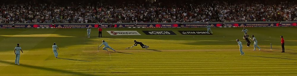 New Zealand v England, ICC Cricket World Cup Final. Lords, London, England, 14 July 2019