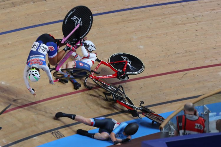 The UCI Cycling Track World Championships, Velodrom, Berlin, Germany. 28 February 2020