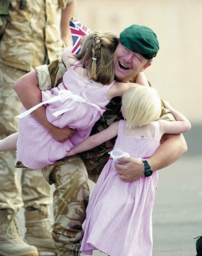 Coming Home - Royal Marines from Iraq
