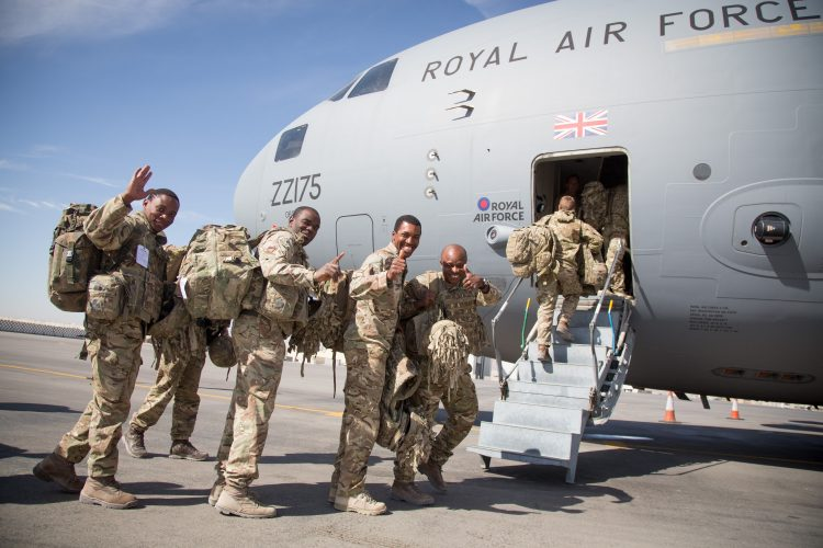 British Troops Withdrawl From Kandahar Afghanistan November 2014