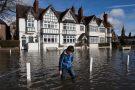 Floods in southwest, UK