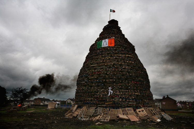 Eleventh Night Bonfires Mark Anniversary
