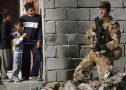 British Troops Patrol On The Streets Of Basra