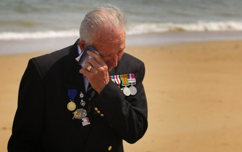 Veterans Gather To Commemorate The 65th Anniversary Of The D-Day Landings