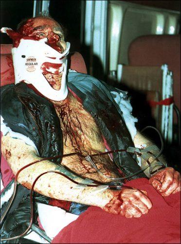 PIC JON BOND ALDWYCH BUS BOMB 18.02.1996