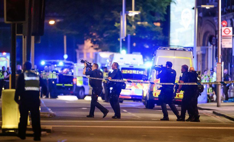 Terrorist attack at London Bridge