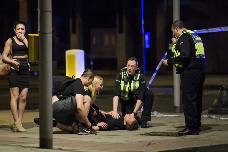 Terrorist attack at London Bridge