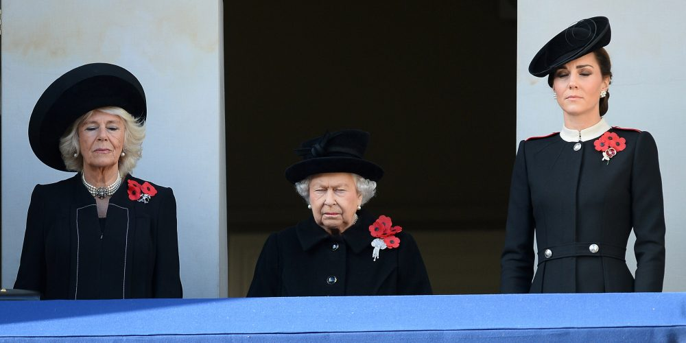HM The Queen, Duchess of Cornwall and Duchess of Cambridge