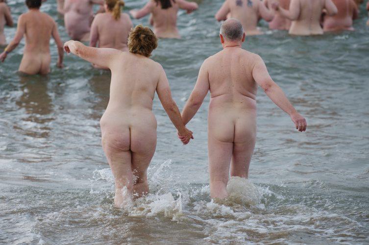 World Record Skinny Dip