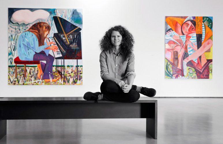 Artist Dana Shultz for the Hepwoth Wakefield