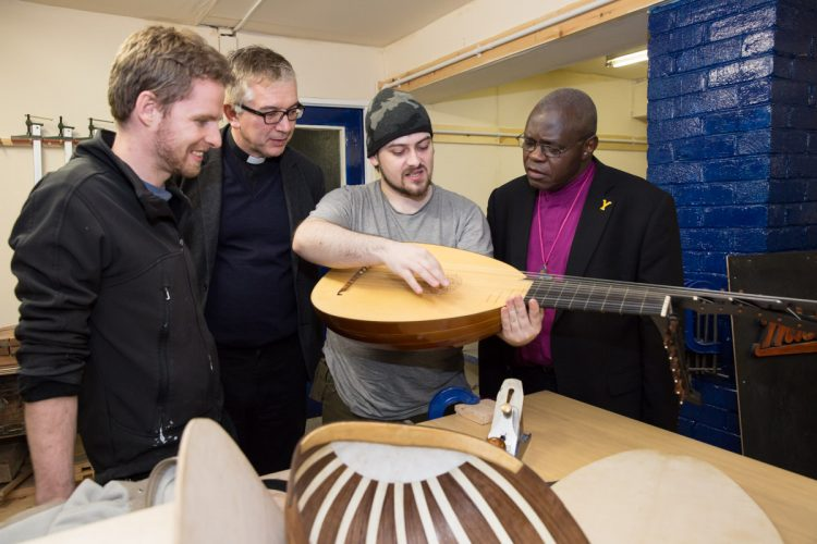 Archbishop of York visits 'Together Grants' project - (C) Keith Blundy / Aegies PR
