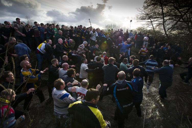 Royal Shrovetide Football - Ashbourne, UK