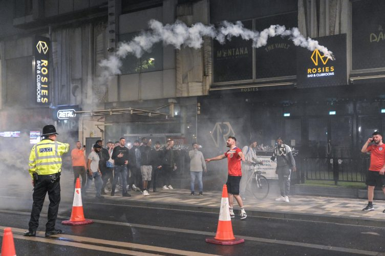 Euro 2020 Final: Fights, smoke grenades and heartache as football fans react to England losing against Italy in the Euro 2020 Final