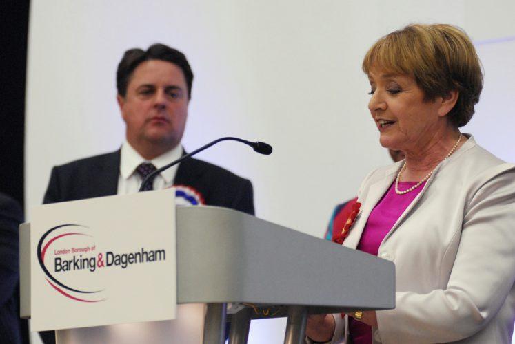 MP Margaret Hodge holds onto her seat in Barking & Dagenham.