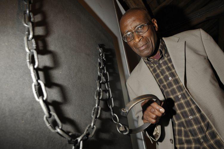 Anti slave trade exhibition, London Docklands, Museum.
