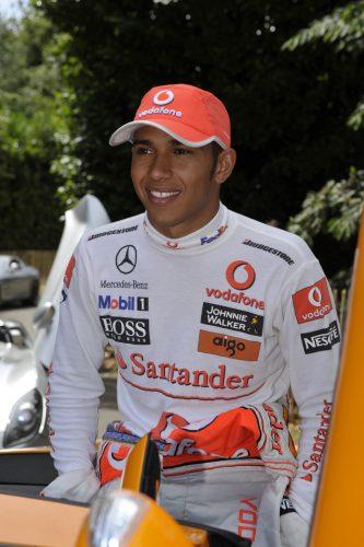 Lewis Hamilton, Goodwood Festival of Speed.