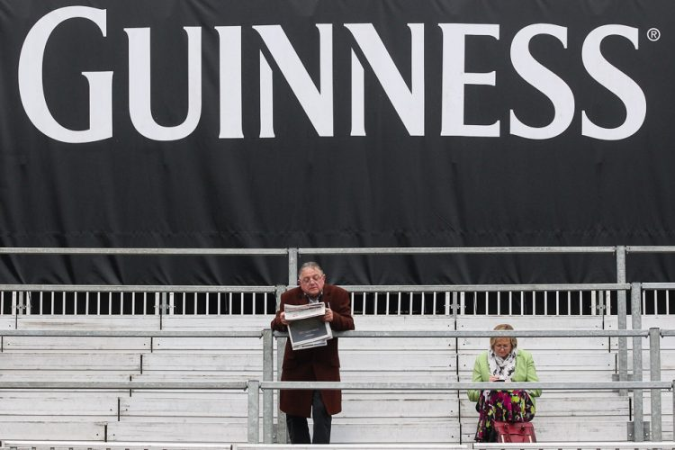Guinness at the 2014 Cheltenham Festival.